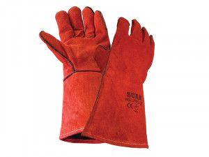 Scan Welders Gauntlet - Red