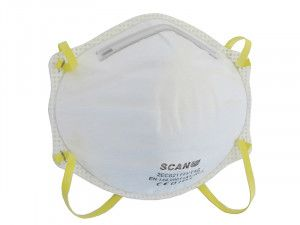 Scan, Moulded Disposable Masks FFP1