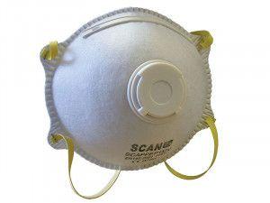 Scan, Moulded Disposable Valved Mask