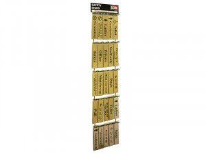 Scan Signs Display - 100 Signs (Metal)