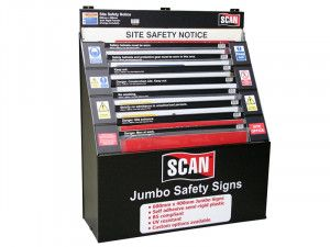 Scan Signs Display - 36 Large Signs