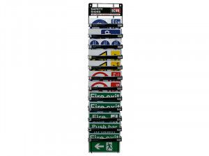 Scan Signs Display - 60 Signs (12 Tier Stand)