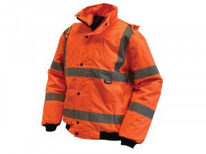 Scan, Hi-Vis Bomber Jackets Orange