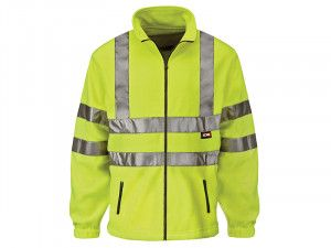 Scan, Hi-Visibility Yellow Full Zip Fleeces