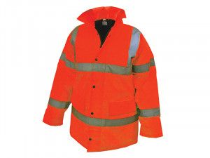 Scan, Hi-Vis Motorway Jackets Orange
