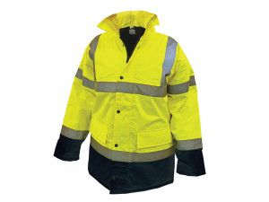Scan, Hi-Vis Motorway Jackets Yellow