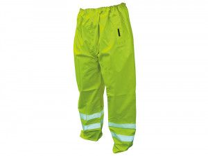 Scan, Hi-Vis Motorway Trousers Yellow