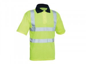 Scan, Hi-Vis Yellow Polo Shirt