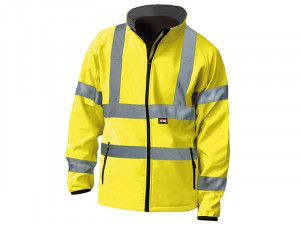Scan, Hi-Vis Yellow Soft Shell Jacket