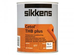 Sikkens, Cetol THB Plus Translucent Woodstains
