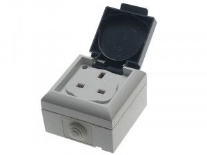 SMJ, IP54 Outdoor Socket 13A
