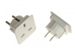 SMJ Worldwide Travel Adaptor - Pack of 2