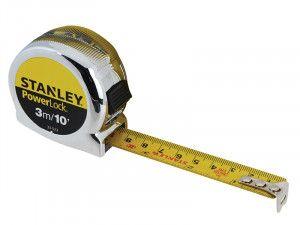 Stanley Tools PowerLock® Classic Pocket Tape 10m/33ft (Width 25mm)