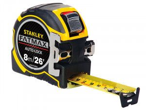 Stanley Tools FatMax® Autolock Pocket Tape 8m/26ft (Width 32mm)