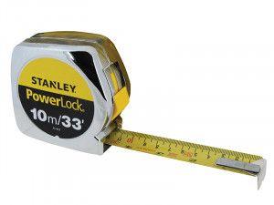 Stanley Tools PowerLock® Classic Pocket Tape 3m/10ft (Width 19mm)