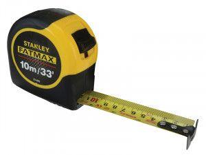 Stanley Tools FatMax® BladeArmor™ Tape 10m/33ft (Width 32mm)