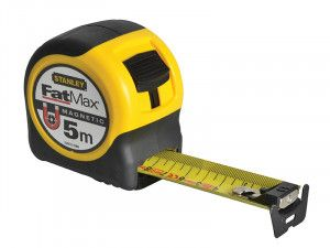 Stanley Tools FatMax® Magnetic BladeArmor™ Tape 5m (Width 31.7mm)