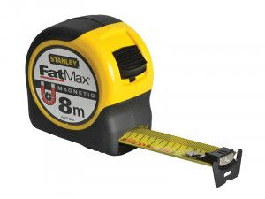 Stanley Tools FatMax® Magnetic BladeArmor™ Tape 8m (Width 31.7mm)