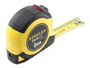 Stanley Tools Dual Lock Tylon™ Pocket Tape 5m (Width 19mm)