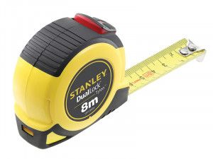 Stanley Tools Dual Lock Tylon™ Pocket Tape 8m (Width 25mm)