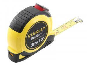 Stanley Tools Dual Lock Tylon™ Pocket Tape 3m/10ft (Width 12mm)