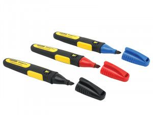 Stanley Tools FatMax® Chisel Tip Markers (Pack of 3)