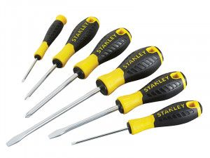 Stanley Tools 0-60-208 Essential Screwdriver Set of 6 SL/PH