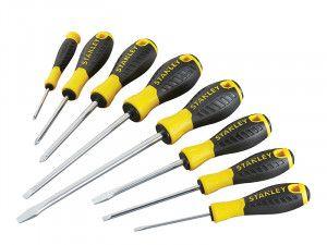 Stanley Tools 0-60-210 Essential Screwdriver Set of 8 SL/PH