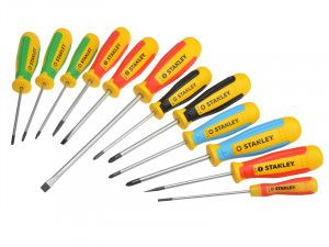 Stanley Tools Magnum Screwdriver Set of 12 SL/PH/PZ/TX