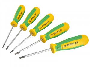 Stanley Tools Magnum Screwdriver Set of 5 TX