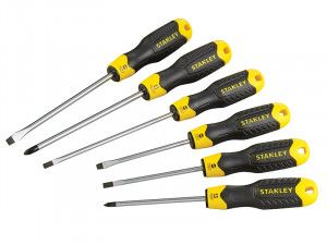 Stanley Tools Cushion Grip Screwdriver Set of 6 SL/PH
