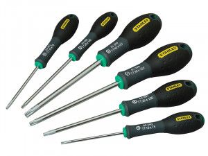 Stanley Tools FatMax® Screwdriver Set of 6 Tamperproof Torx