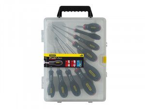 Stanley Tools FatMax® Screwdriver Parallel/Flared/Pozi Set of 9
