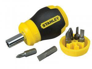Stanley Tools Stubby Screwdriver - Non Ratchet