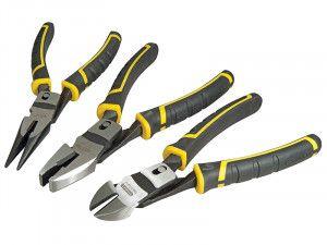 Stanley Tools FatMax® Compound Action Pliers Set 3 Piece