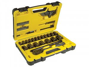 Stanley Tools Tech 3 Socket Set 61 Piece 1/2in Drive