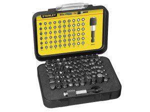 Stanley Tools 61 Piece Bit Set 1/4 in drive