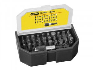 Stanley Tools Bit Set & Holder, 31 Piece