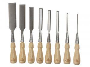 Stanley Tools Sweetheart Socket Chisel Set of 8: 3,6,8,12,15,18, 25 & 32mm