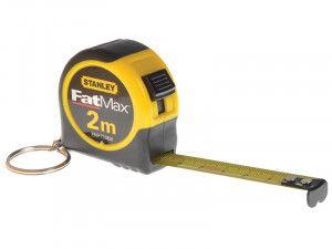 Stanley Tools Key Ring Tape 2m (Width 13mm)