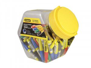 Stanley Tools Mini Fine Tip Pen (Tub of 72)