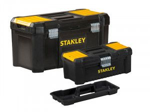 Stanley Tools Essential Toolbox Bonus Pack 32cm (12.1/2in) & 48cm (19in)