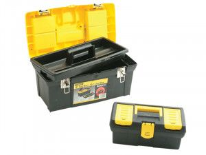 Stanley Tools Tool Box 50cm (19in) Plus Bonus Box