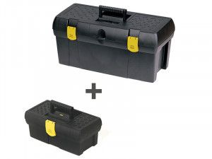 Stanley Tools Tool Box 50cm (19in) + Toolbox 32cm (12.1/2in)