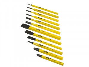 Stanley Tools Punch & Chisel Set 12 Piece