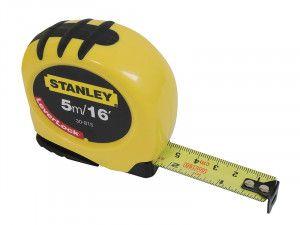 Stanley Tools Leverlock Tape 5m/16ft (Width 19mm)