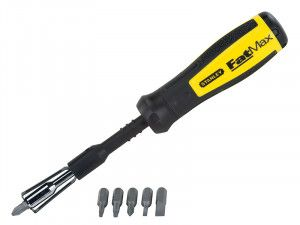 Stanley Tools FatMax® Clip-N-Grip Multibit Screwdriver