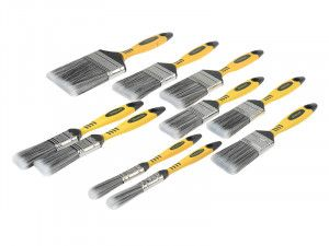 Stanley Tools Loss Free Synthetic Brush Pack 10 Piece