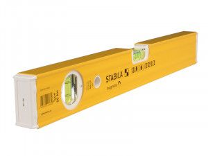 Stabila, 80AM Single Plumb Magnetic Box Section Spirit Levels
