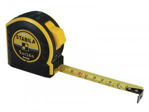 Stabila BM40 Pocket Tape 5m/16ft (Width 25mm)